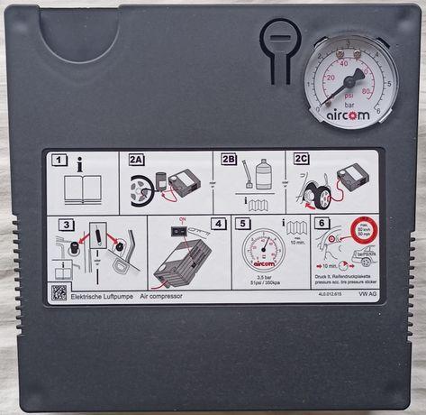 Аварийный комплект для ремонта шин(компрессор на 240w и герметик700мл)