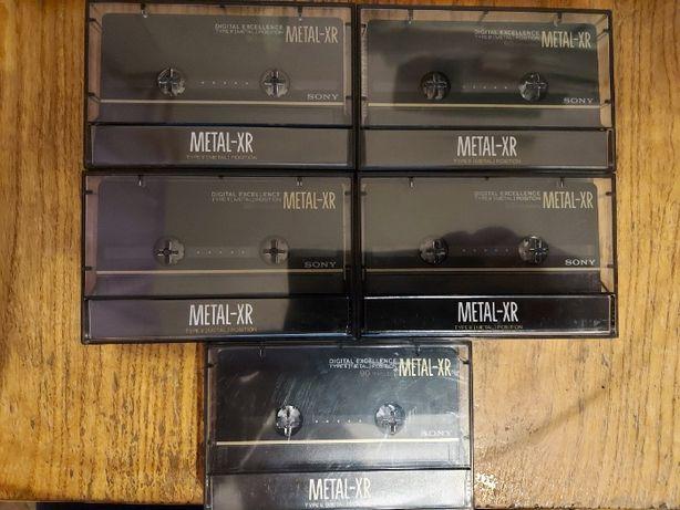 SONY Metal XR 90, nagrane, igła-