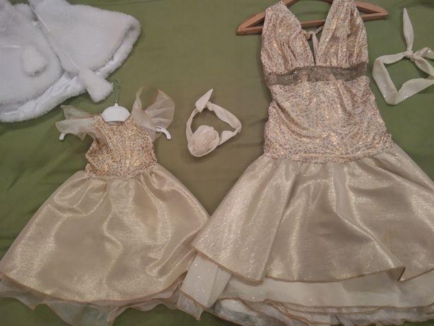 Платье мама дочка ,фемили лук, Family Look