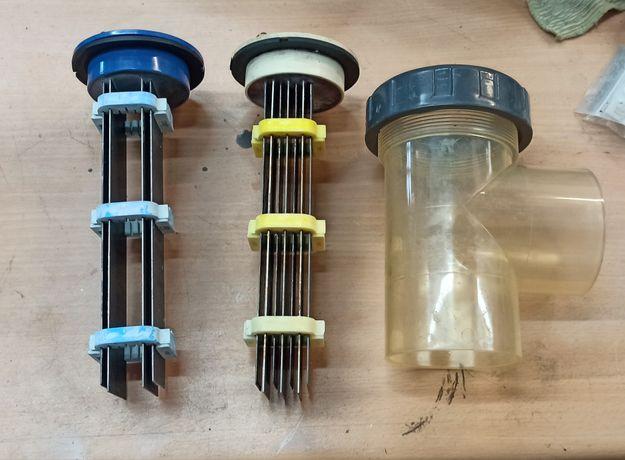 Células para electrólise de sal em piscinas