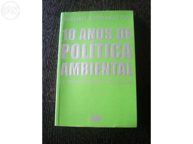 Livro 10 anos de Política Ambiental