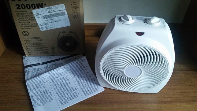Termowentylator - farelka.Grzejnik elektryczny zakupiony w anglii nowy