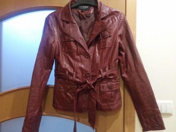 Kurtka, jak Ramoneska kolor burgund- rozmiar 36 Cena z wysyłką