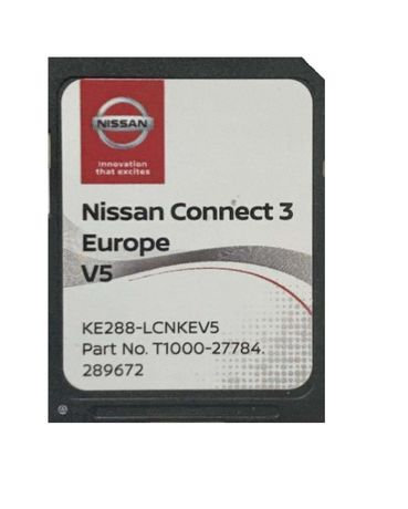 Навигация 2019/2020 Nissan Connect 3 V5 KE288-LCNKEV5 SD card