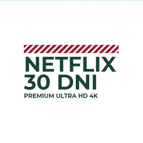 NETFLIX 30/60 DNI UHD PL - Opłacone, legalne - Spotify 365 DNI