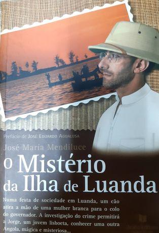 """Livro """"O Mistério da Ilha de Luanda"""""""