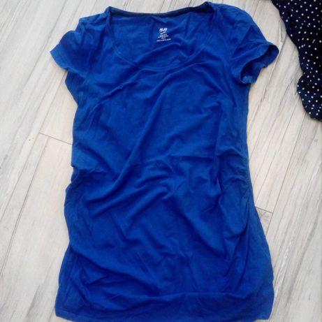 Ubrania ciążowe: getry, bluzki, sukienka, spodnie