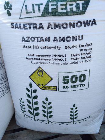 Saletra Amonowa 34,% Super saletra, mocznik, nawozy