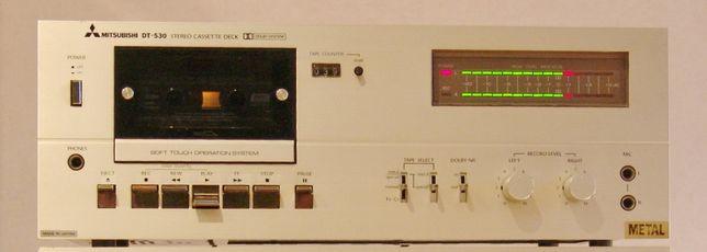 Редкая кассетная дека Mitsubishi DT-530. Винтаж.