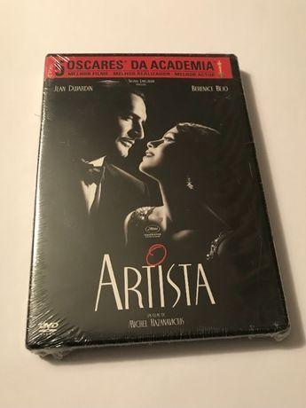 O Artista (The Artist, 2011), de Michel Hazanavicius (DVD selado)
