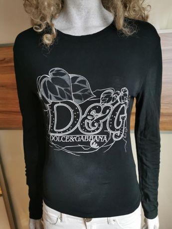 Obłędna bluzeczka damska w kolorze czarnym. Stan Jak Nowa