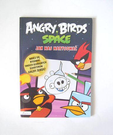 książka Angry Birds space jak nas narysować, kolorowanka dla dziecka