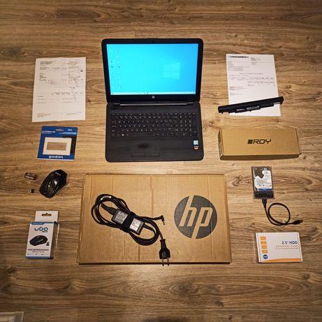 Laptop HP ( i5 ,12 ram, NOWY 256 SSD,  Radeon_  1TB HDD _ Nowa Bateria