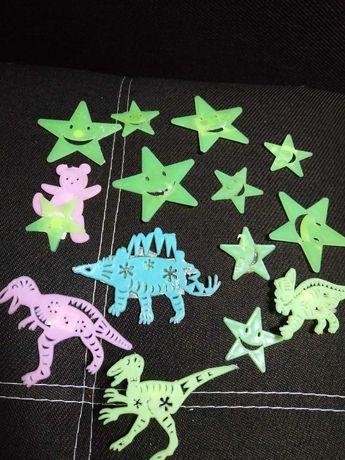Светящиеся звёзды на стену в детскую