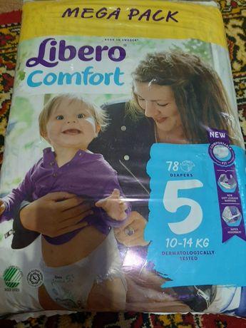 Подгузники Libero Либеро Comfort 5 10-14 кг 78  шт