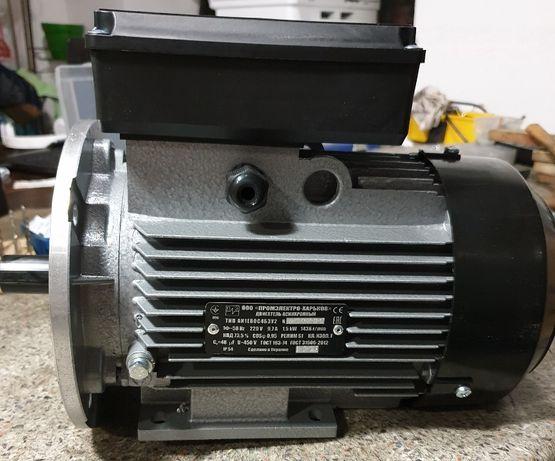 Электродвигатель 380 трехфазный однофазный електромотор АИР 220В 380В