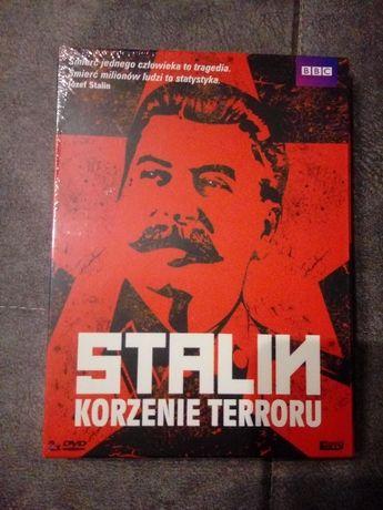 Stalin korzenie terroru dvd film dokumentalny, 2 części, nowe