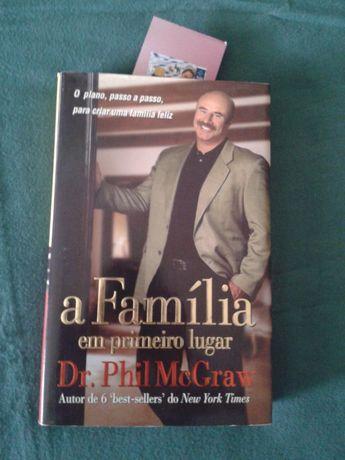 """Livro """"A Familia Em Primeiro Lugar"""" do Dr.Phil McGraw,Mais presente"""