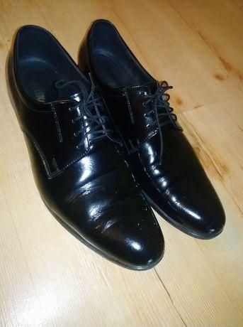 Buty lakierki ślubne rozmiar 45