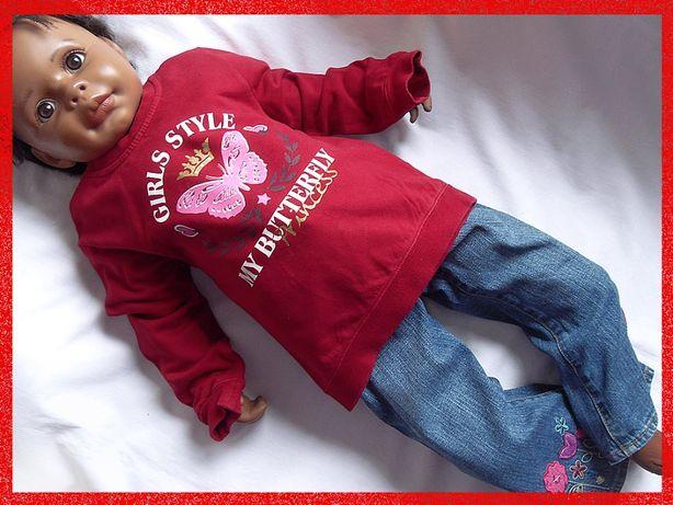 córka 2-4 lata, 98-104, bluzka, bluza, Power Kids,