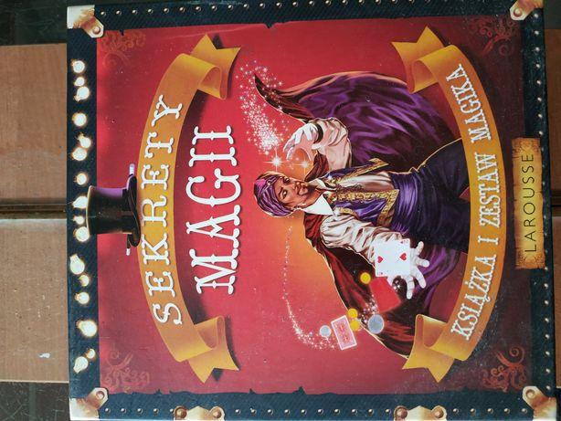 Sekrety magii książka i zestaw magika
