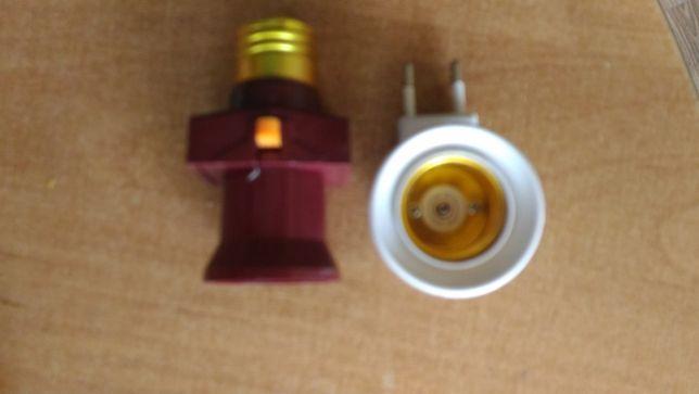 adapter rozgaleznik,mini lamka
