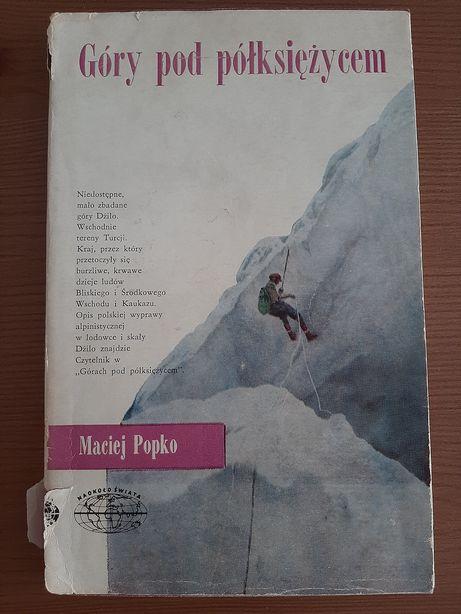Książka M. Popko Góry pod półksiężycem