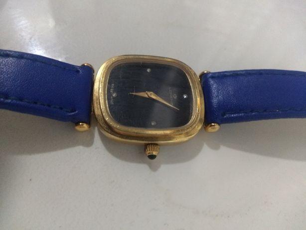 Часы Lorenz оригинал механика позолоченные