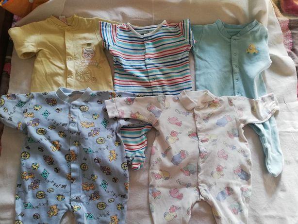 Человечек, слип, комбинезон, костюм для новорождённых 62 размера