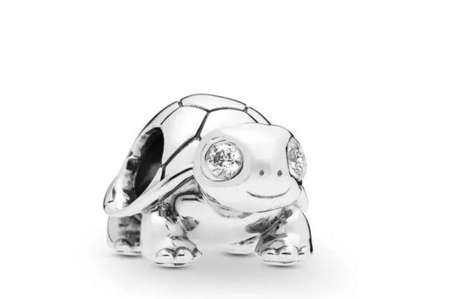 Żółwik. Charms zawieszka do bransoletki typu Pandora