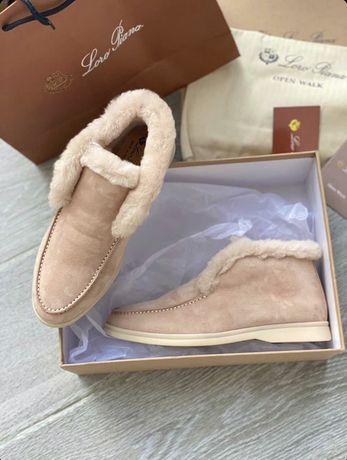 Лоферы ботинки Loro piana dior louis