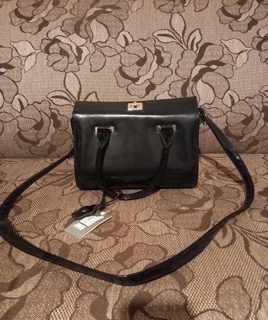 сумка женская, сумка черная, новая сумка