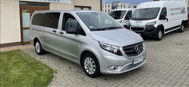 Bus osobowy na wynajem 8 osób Mercedes Vito wypozyczalnia samochodow