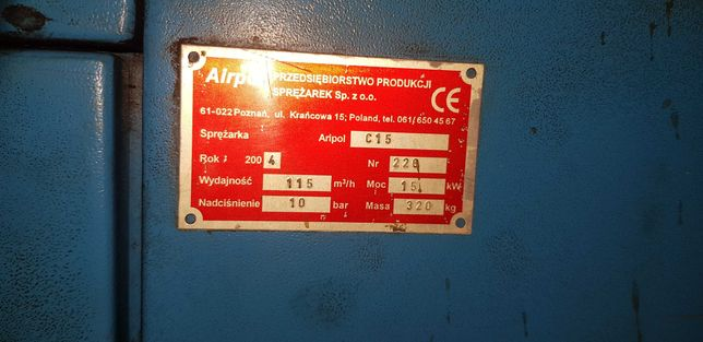 Airpol C15/10 15kW