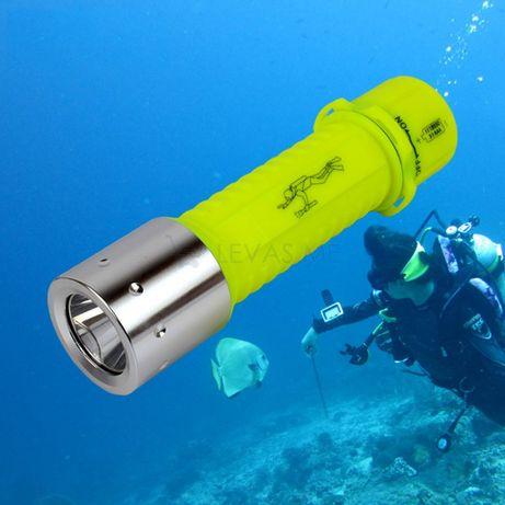 Lanterna de mergulho led á prova de água