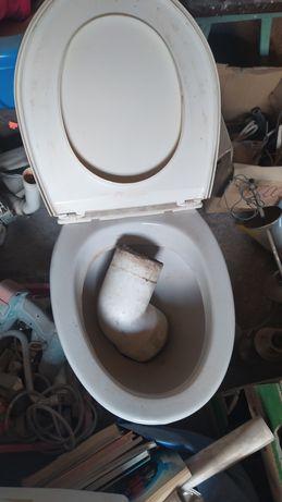 Toaleta WC muszla + spłuczka