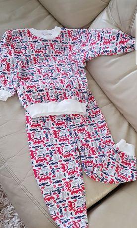 Пижама новая для мальчика. Машинки. 4-6 лет