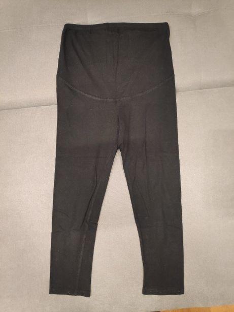 Czarne legginsy ciążowe rozmiar M