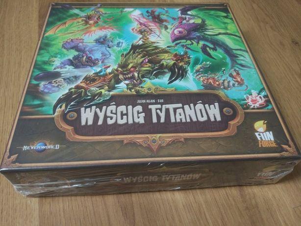 Nowa gra planszowa - Wyścig Tytanów
