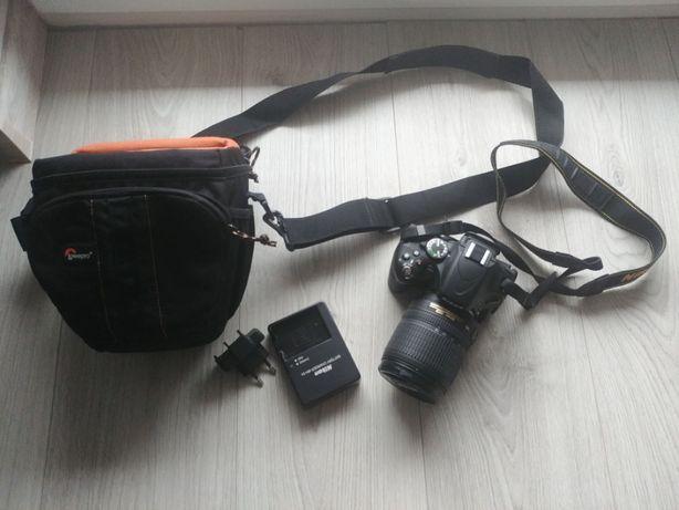 Nikon D5100 + obiektyw 18-105mm