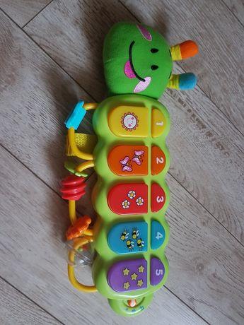 Gąsienica Zuzia- zabawka interaktywna
