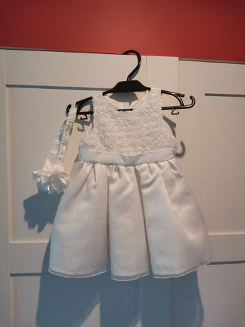 Sukienka na chrzest roz. 74