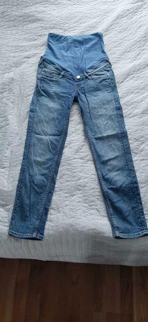Ubrania ciążowe XS 34 h&m spodnie spodenki koszulki