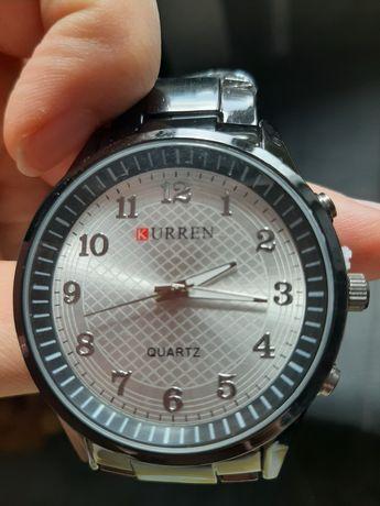 Zegarek męski, stal nierdzewna kolor czarny - stalowy