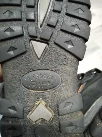 Buty zimowe chłopięce lasocki 26