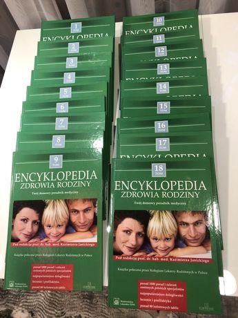 Ekcyklopedia zdrowia rodziny 18 tomów