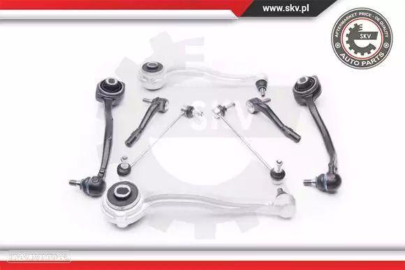 Kit de braços da suspensão Mercedes Classe C W203