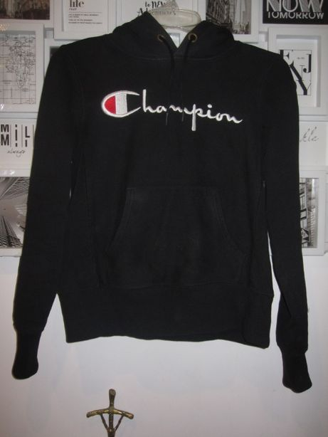 Bluza czarna Champion XS