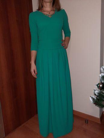Нарядное платье, вечернее платье в пол размер М