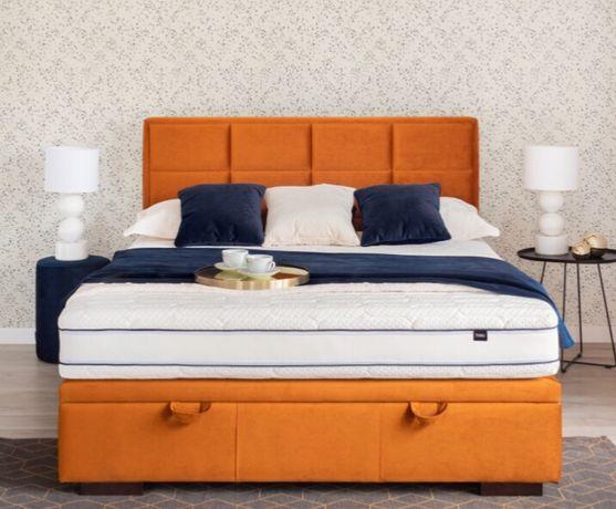 Łóżko kontynentalne (prawie nowe) - okazja